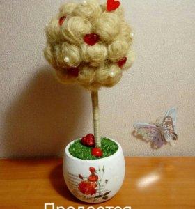 Дерево счастья(топиарий)