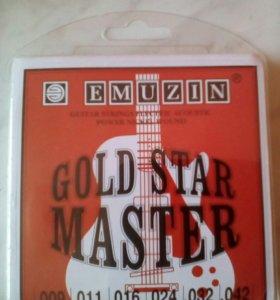 Набор струн для шестиструнных гитар