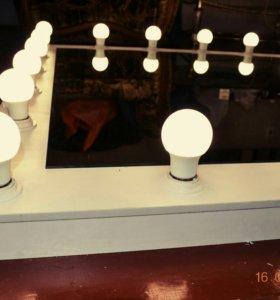 Изготовление гримерных зеркал