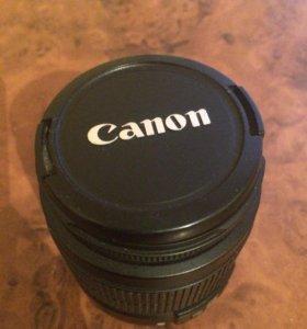 Продам объектив на canon(подлежит ремонту)