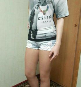 Шорты джинсовые Oogji