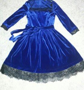 !!!Платье велюр!!!