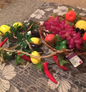 Искусственные фрукты