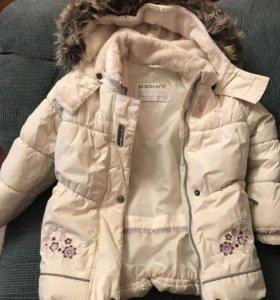 Куртка зимняя для девочки KERRY