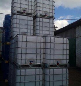 Емкость Кубовая объем 1000 литров пищевая