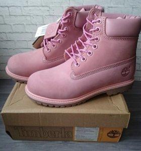 💎Весенние ботинки Timberland розовые🔝