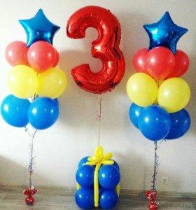 Оформление дня рождения