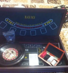 """Игровой набор """"казино"""""""