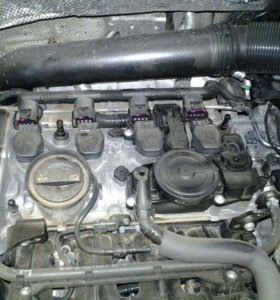 Двигатель CAWA на запчасти