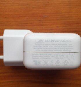 Оригинальный адаптер зарядки apple iPad