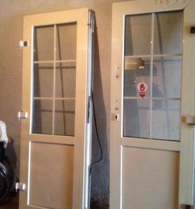 Пластиковые двери