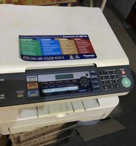 Принтер сканер факс Panasonic kx-mb 763