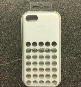 Оригинальный чехол Apple для iPhone 5c