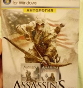 Игра Assassins creed 3 2 части