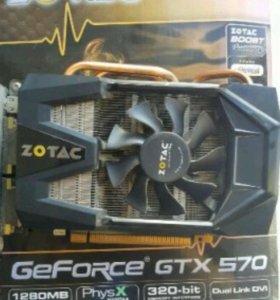 Видеокарта Zotac GeForce GTX 570 1280MB