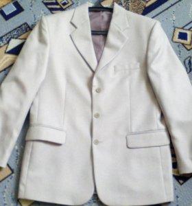 Костюм. Пиджак и брюки. Размер 50-52