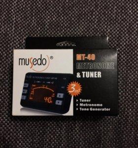 Метроном, тюнер, тон генератор MUSEDO MT-40