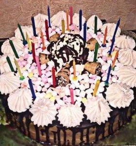 Домашний тортик