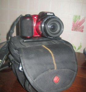 Срочно продам фотоаппарат. Nikon coolpix L810.