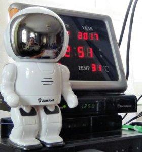 Видеонаблюдение -робот
