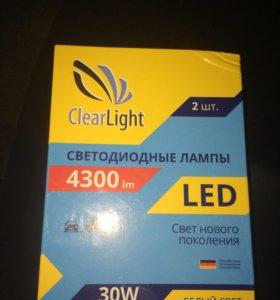 Лампочки LED H7