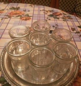 Граненые стаканчики.