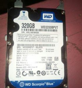 Винчестер WD Scorpio® Blue™ 320GB
