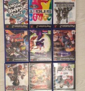 Оригинальные диски для PlayStation 2