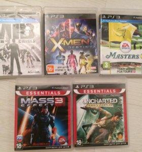Оригинальные диски на PlayStation 3