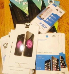 Продам защитные стекла на айфон