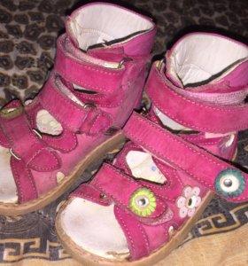 Обувь для девочки 21, 22-23р-р