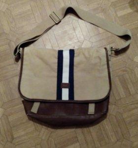 Мужская сумка Tommy Hilfiger оригинал,новая!