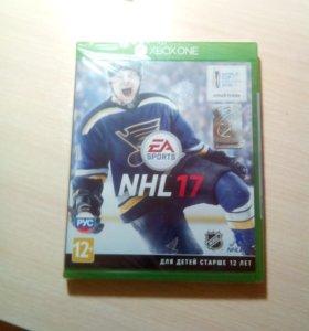 Игра на xbox NHL 17
