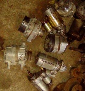 Стартера генераторы ваз газ и иномарки