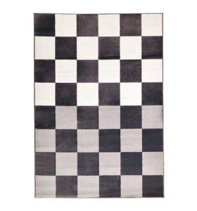 Ковер, серый/белый,160x230 см