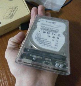 """Переносной жёсткий диск 2.5"""" orico"""