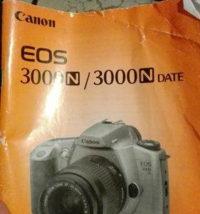 Фотоаппарат зеркальный canon eos 3000n