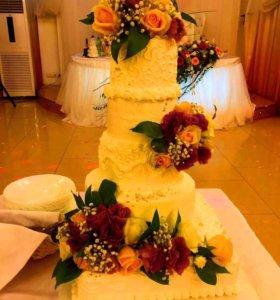 Вкусные сладости:торты и пирожные)))