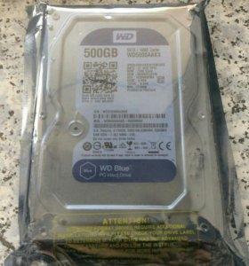 Новый жесткий диск в упаковке