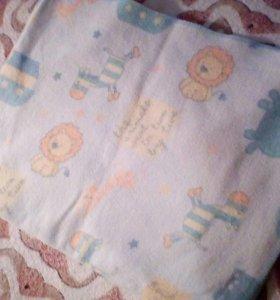 Байковое одеялко для малыша