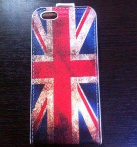 Чехол флип кейс на iPhone 6 6S флаг