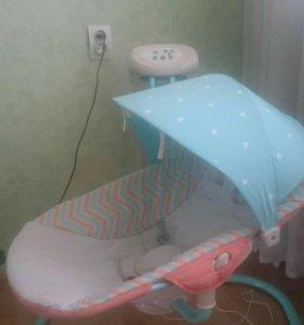 КАЧЕЛИ ДЛЯ НОВОРОЖДЕННОГО HAPPY BABY RELAXER