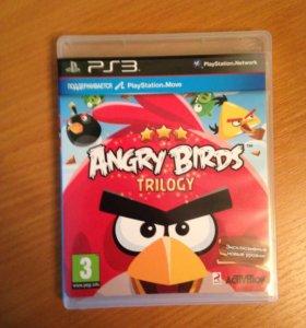 Игра на PS3 Angry Birds trilogy