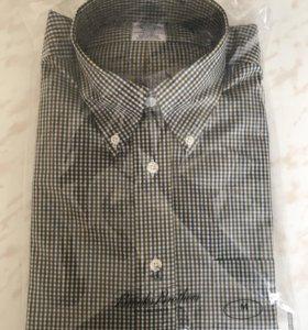 Новая мужская рубашка BrooksBrothers разм М /48-50