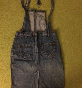 Продам джинсовый сарафан