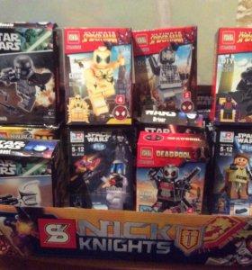 Минифигурки lego Star Wars spider man