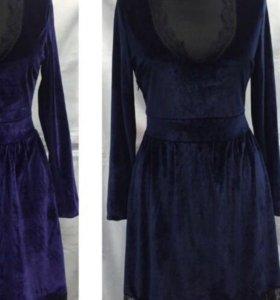 Платье в комплекте с чокером