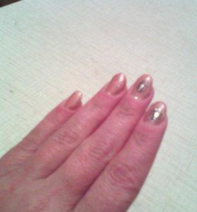 Нарашивание ногтей гелем