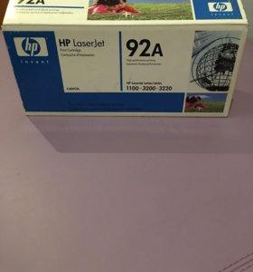 Картридж HP laserJet 92A C4092A ОРИГИНАЛ!!!