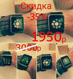 Часы-телефон GT08 smart watch